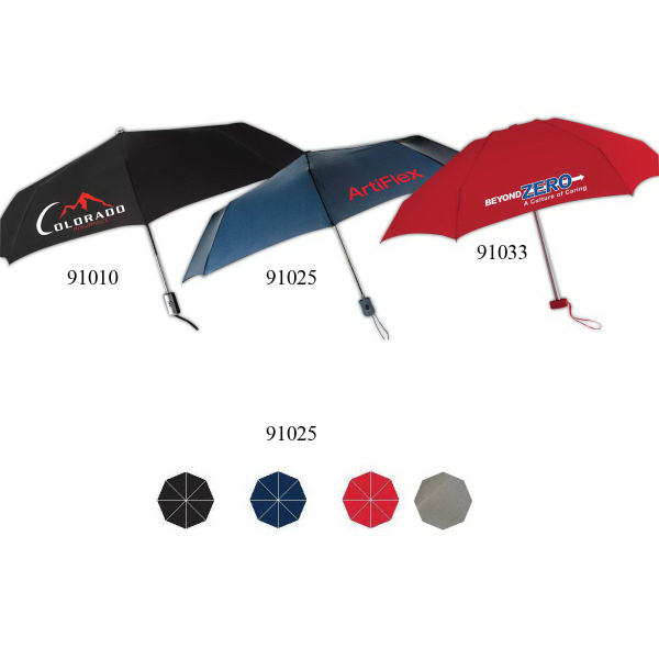 Custom Como Automatic Open Umbrella With Steel Frame