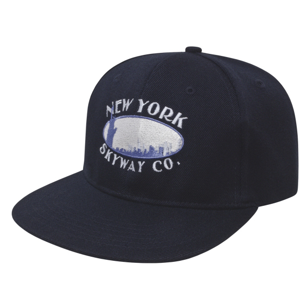 Imprinted Flat Bill Cap