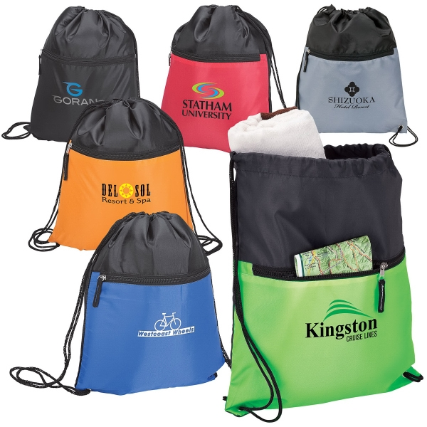 Personalized Drawstring sport bag