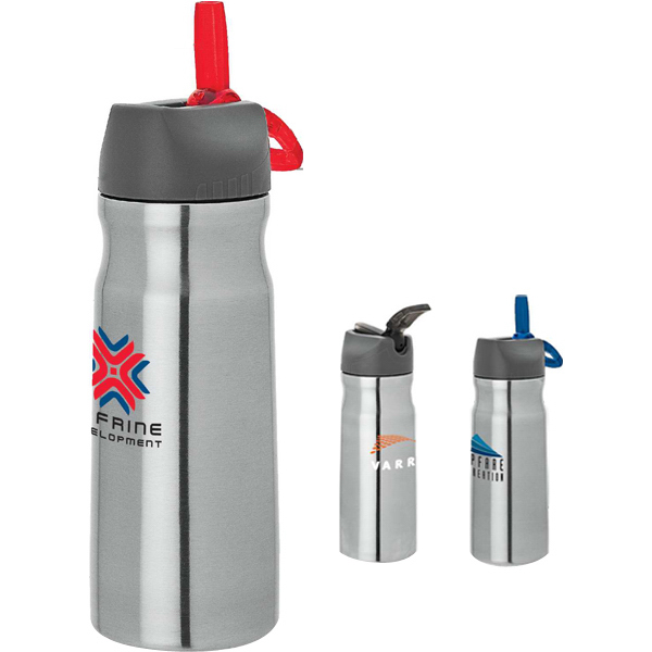 Imprinted Steel water bottle