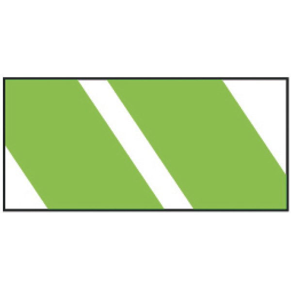 Promotional Green Stripes Wristband