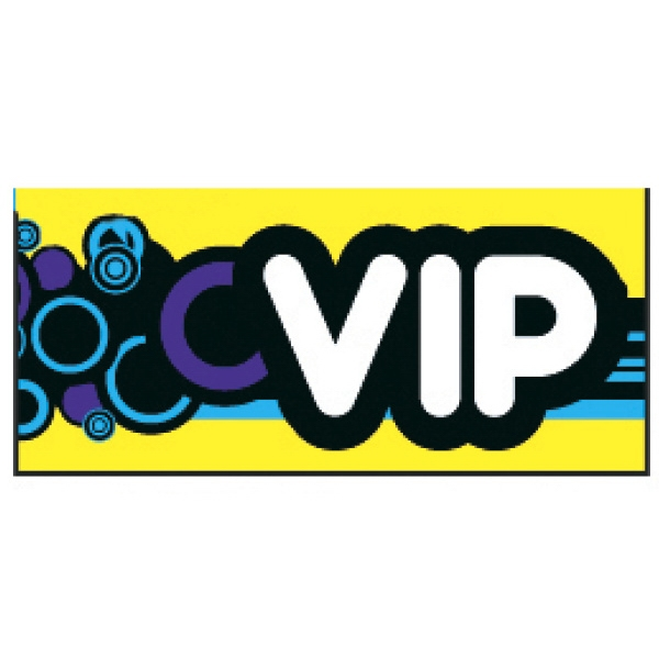 Personalized VIP Groove Wristband