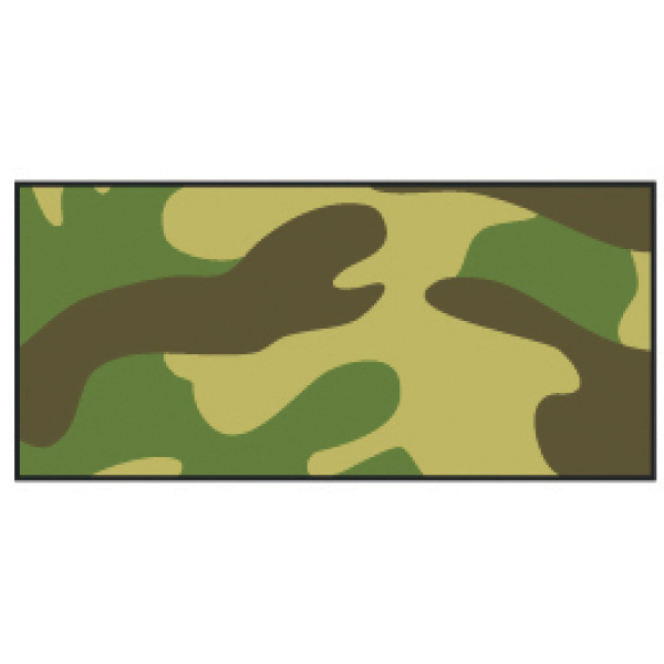 Promotional Green Camo Wristband