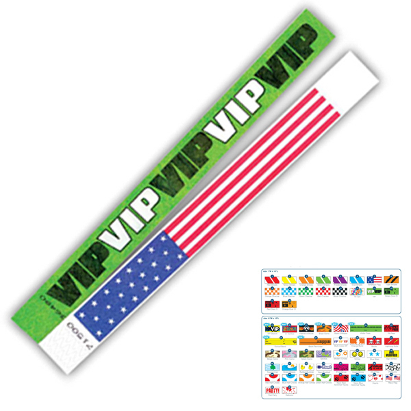 Personalized Race Day Wristband