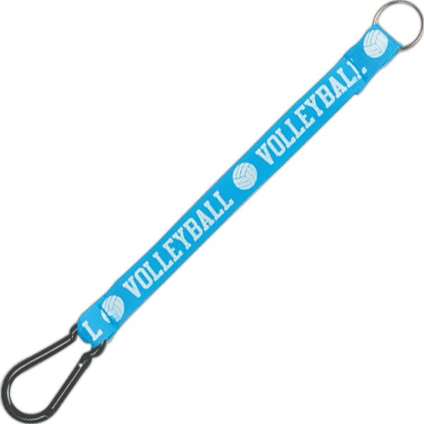 Personalized Sport Clip Key Holder