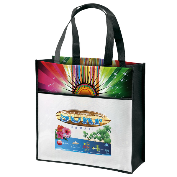 Customized Cosmo Laminated tote