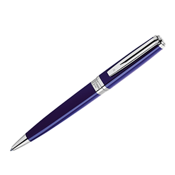 Printed Exception (R) Slim Blue ST Ball Pen