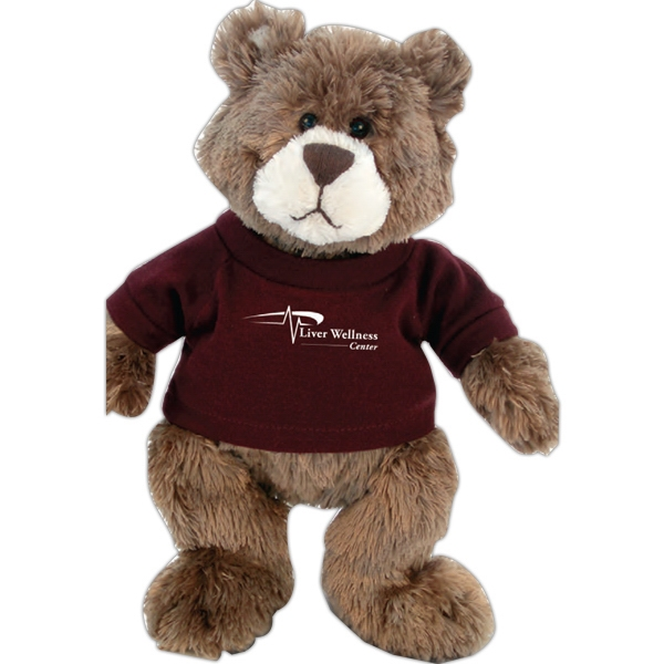 Imprinted Gund (R) plush teddy bear