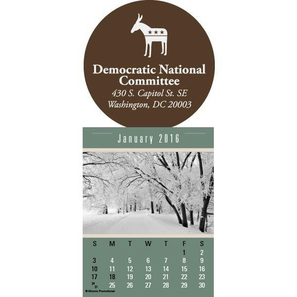 Customized Super-Size Press-N-Stick Calendar