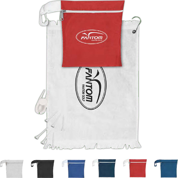 Imprinted Golfer's Pal Kit With Deluxe Golf Tools