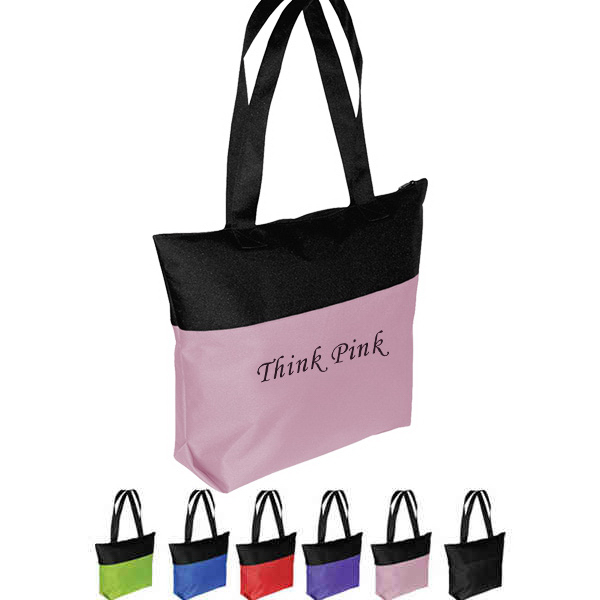 Promotional Two-Tone Tote