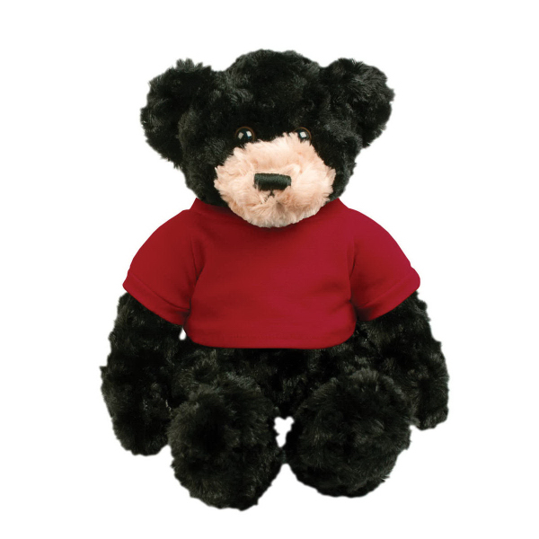 Printed Chelsea Plush Dexter Teddy Bear