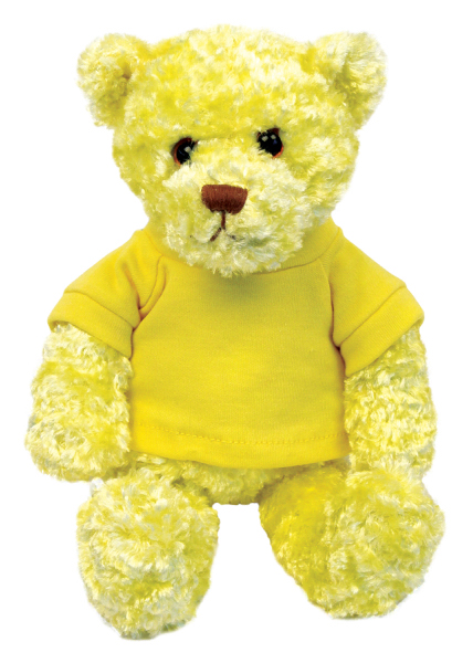 Imprinted Chelsea Plush Tropical Flavor Bear Teddy Bear