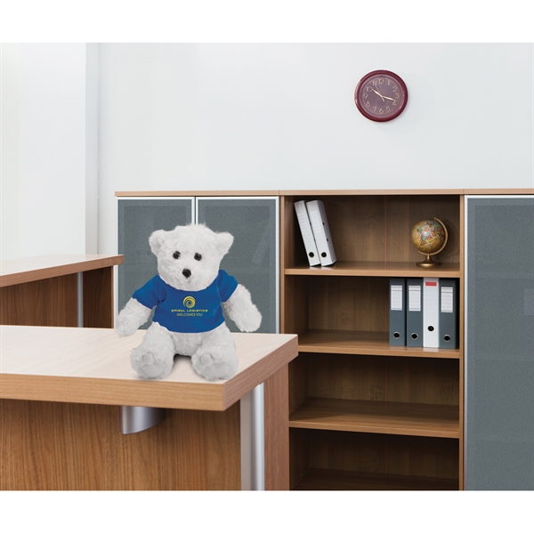 Imprinted Chelsea Plush Traditional Teddy Bear