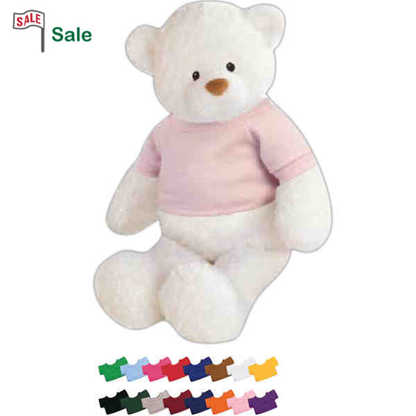 Personalized Gund (R) Plush Baby Bear White Teddy Bear
