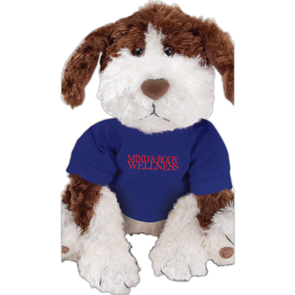 Imprinted Gund (R) Plush Stuffed Dog (Benjamin)