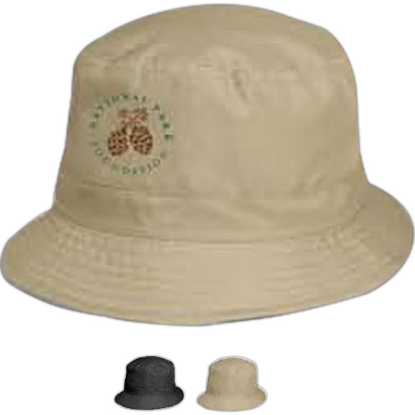 Printed Totes (R) Men's Bucket Rain Hat