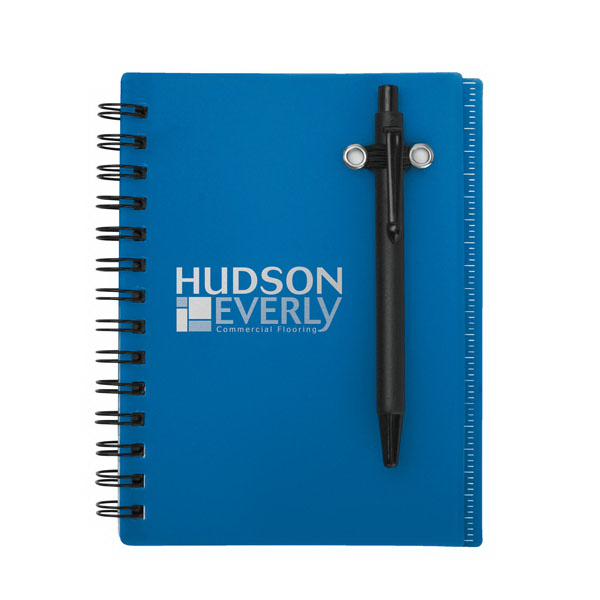 Printed Impact Mini Notebook With Ruler And Pen