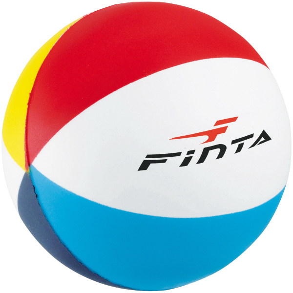 Personalized Beach Ball Stress Reliever