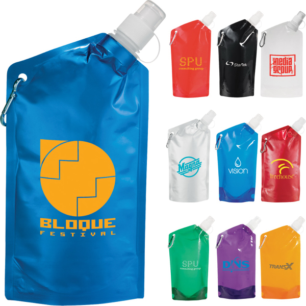 Custom Cabo Water Bag with Carabiner