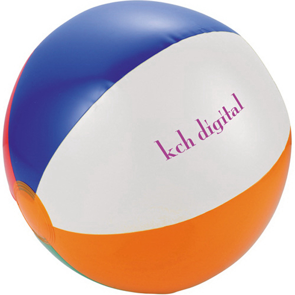 Custom Swirl Beach ball