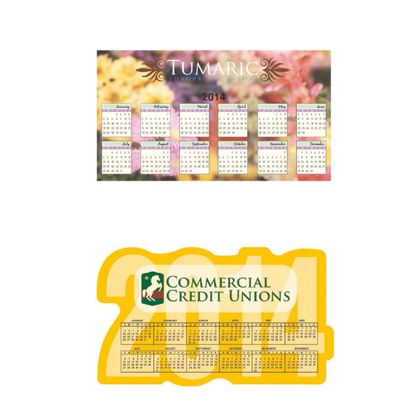 Personalized Large calendar magnet