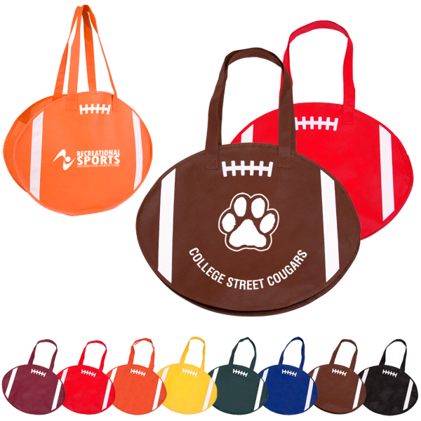 Customized RallyTotes (TM) Football Tote