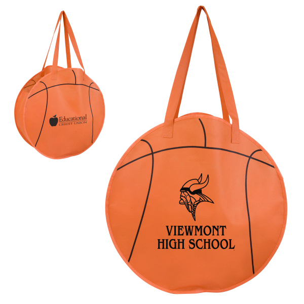 Custom RallyTotes (TM) Basketball Tote