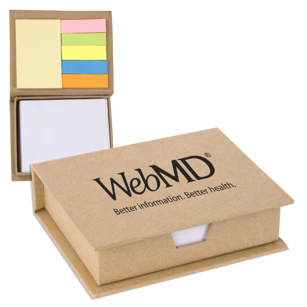 Customized Eco/Recycled Sticky Note Memo Case