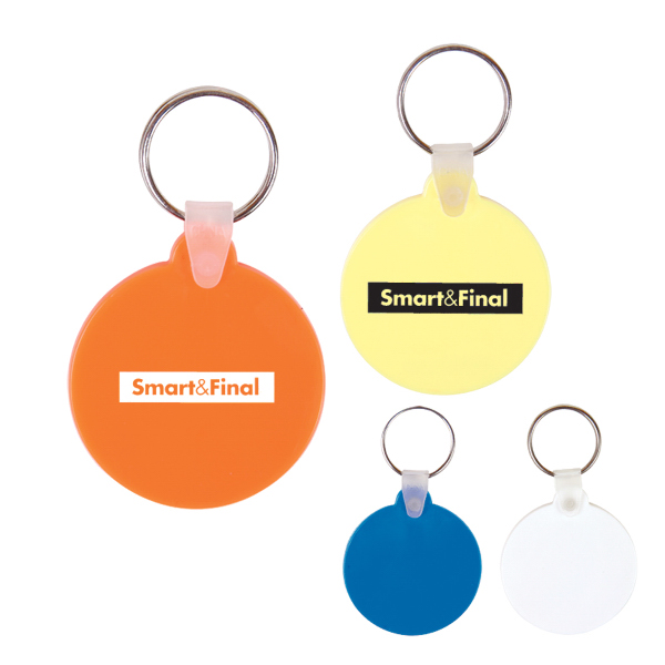Custom Round Key Chain
