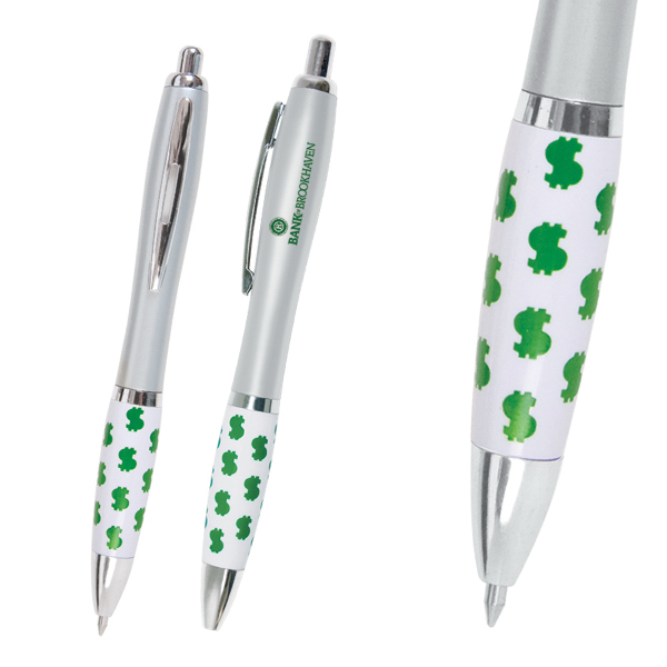 Promotional Emissary Click Pen - $ / Financial Theme