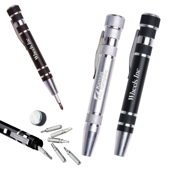 Custom Aluminum Pen-Style Tool Kit