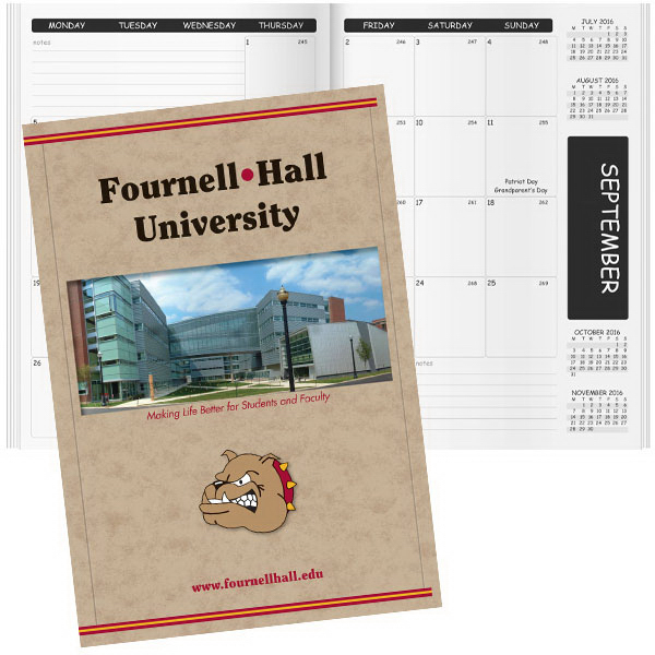 Imprinted HDI Deluxe Academic Planner