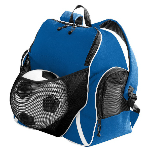 Custom Tri-Color Ball Backpack
