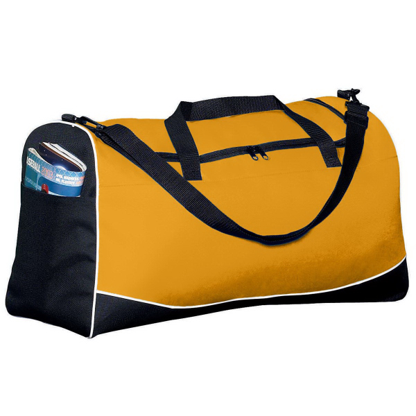 Custom Large Tri-Color Sport Bag