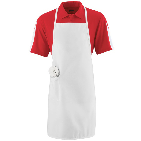 Custom Long Apron With Pocket
