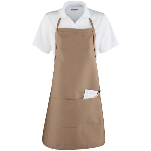 Custom Apron with Adjustable Neck Loop and Waist Ties