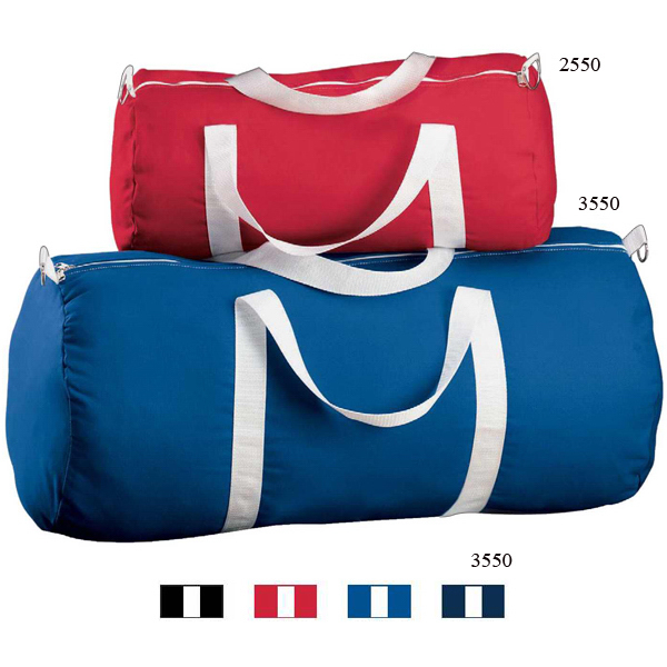 Imprinted Large Canvas Sport Bag