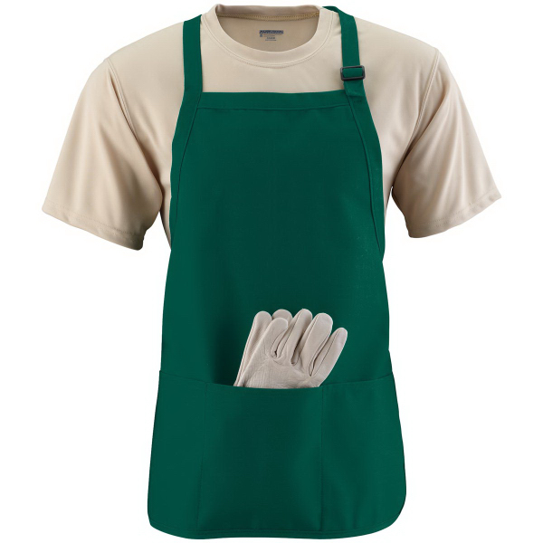 Customized Medium Length Apron with Pouch