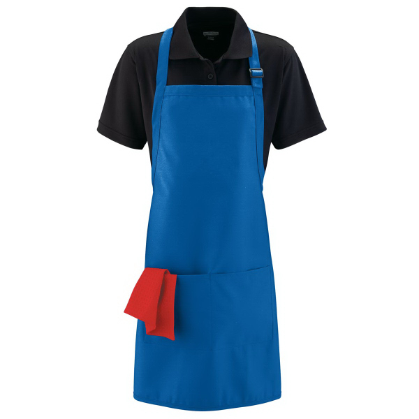 Imprinted Full Width Apron with Pockets