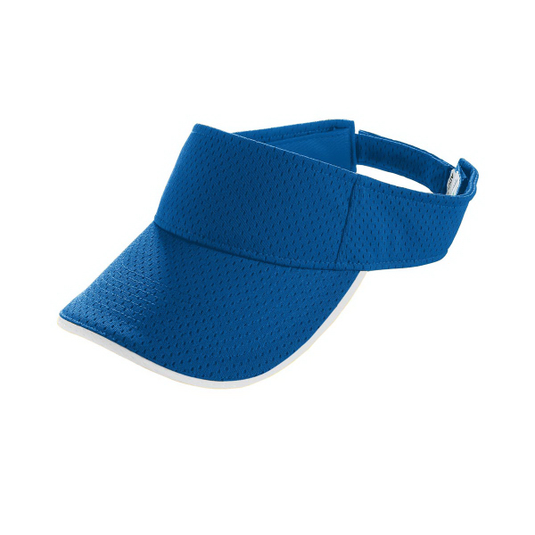 Imprinted Youth Athletic Mesh Two-Color Visor