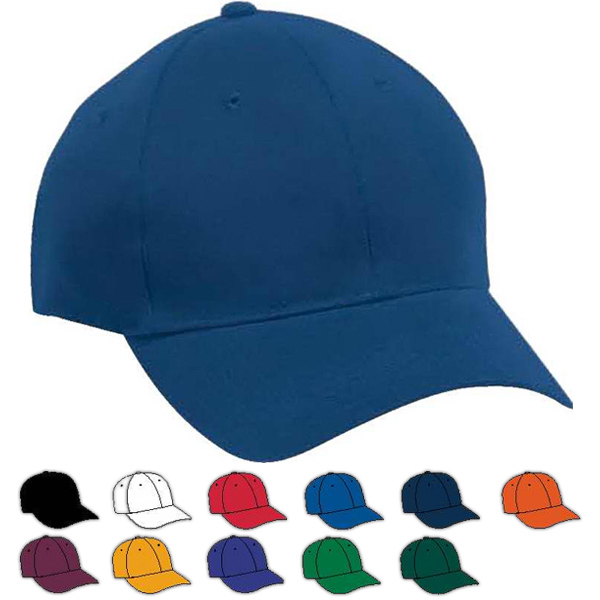 Personalized Adult Sport Flex Brushed Twill Six-Panel Cap