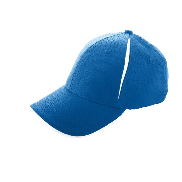 Printed Adult Sport Flex Color Block Athletic Mesh Cap