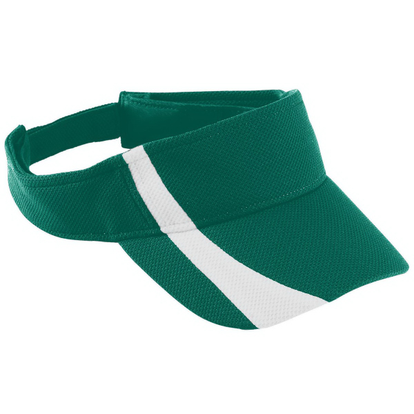 Custom Adult Adjustable Wicking Mesh Two-Color Visor