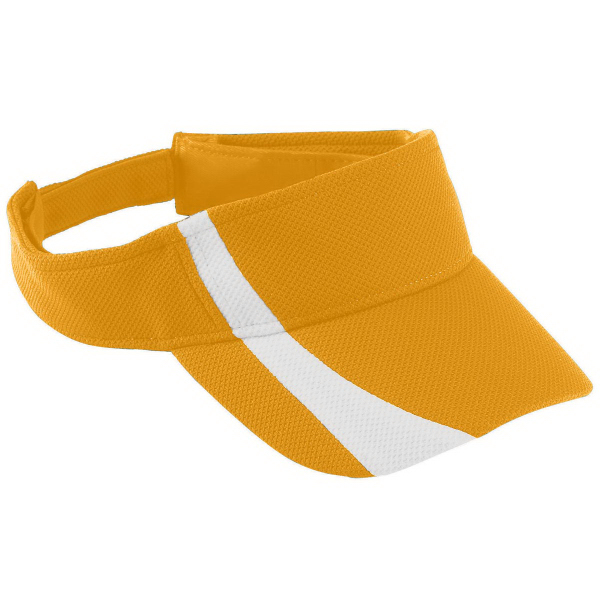 Custom Youth Adjustable Wicking Mesh Two-Color Visor