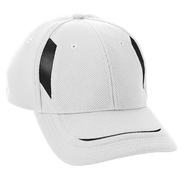Printed Adult Adjustable Wicking Mesh Edge Cap