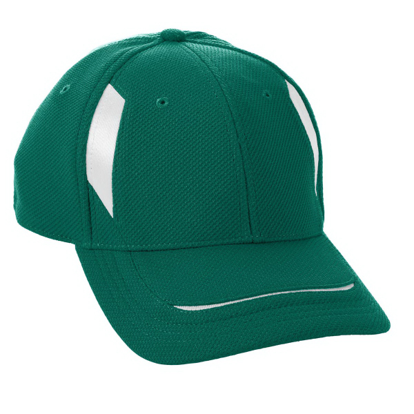 Promotional Youth Adjustable Wicking Mesh Edge Cap