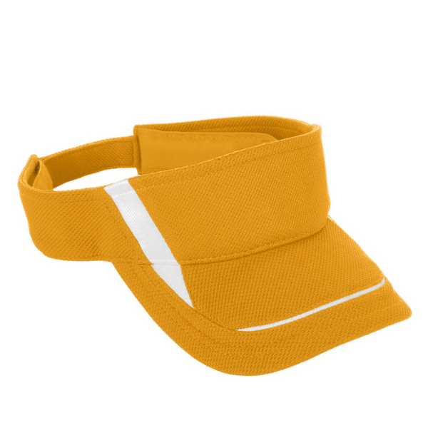 Printed Adult Adjustable Wicking Mesh Edge Visor
