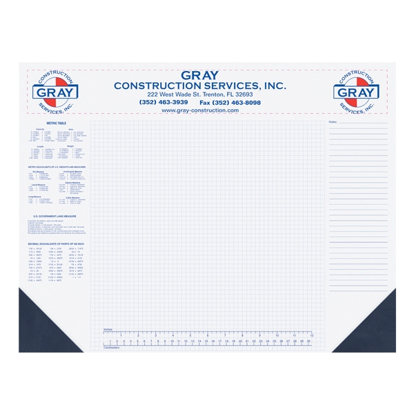 Promotional Non-Dated Desk Pad