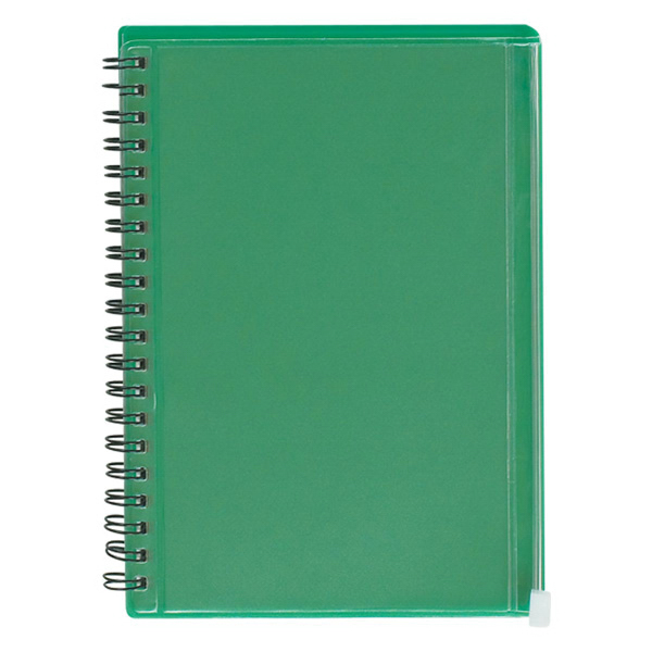 Promotional Spiral Notebook With Pouch